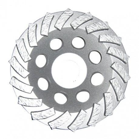 Copas Turbo Silver para desbaste pisos industriales no abrasivos