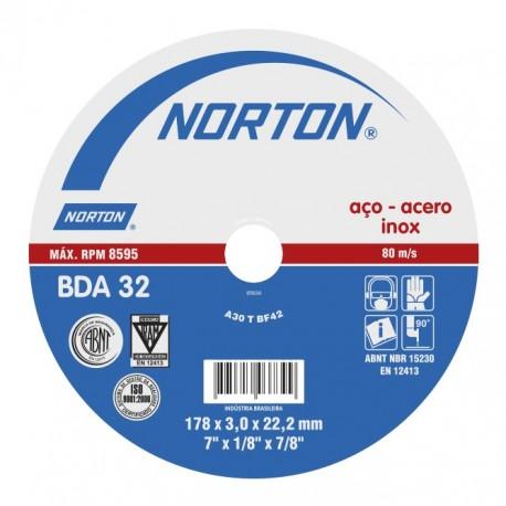 Disco de Corte Acero INOX BDA