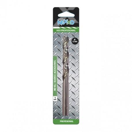 Broca HSS Metal / Acero / Aleaciones 12 mm diámetro