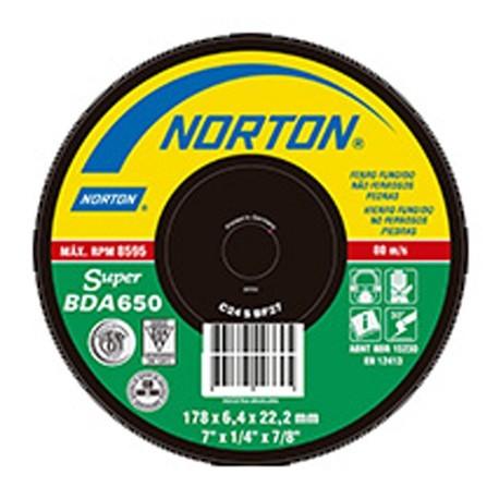 Disco de Desbaste BDA 650 Piedra - Hormigón