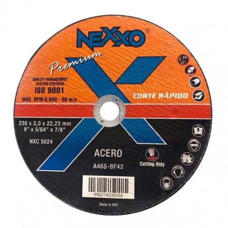 Disco de Corte Rápido Nexxo Premium 9