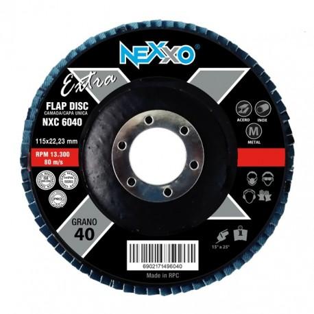 Disco Flap Nexxo Extra Circonio 4 1/2
