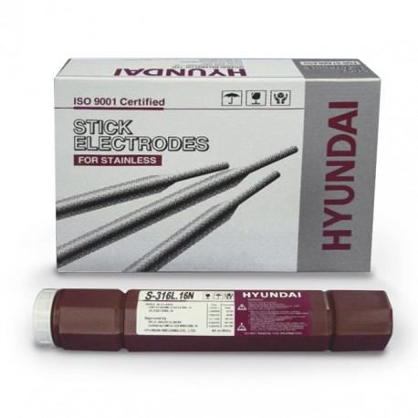Electrodo acero inox S312 - 16